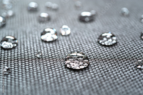Staande foto Paardebloemen en water Waterproof coating background with water drops