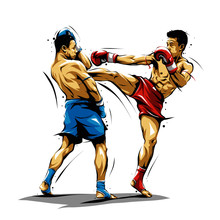 Muay Thai Action