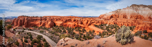 Kodachrome Basin State Park Panorama -View from above.