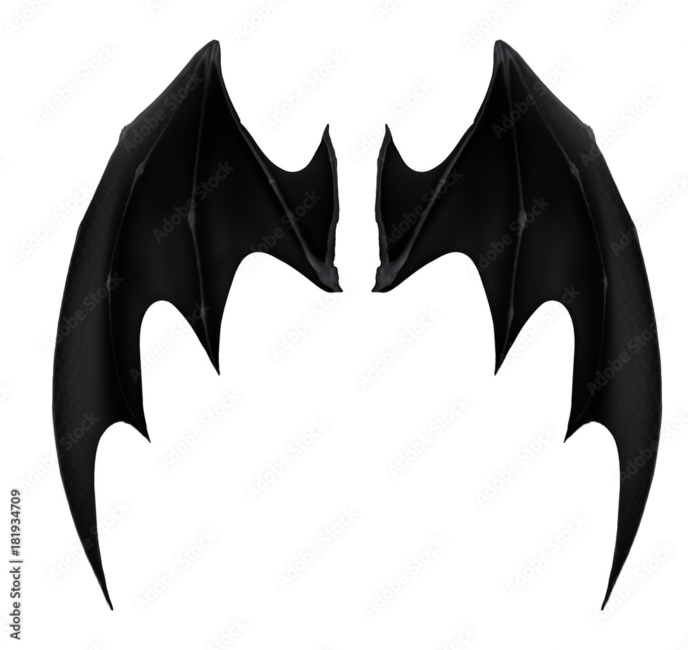 black dark demon wings 1 vampire bat