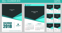 Vector Design Of Wall Calendar...