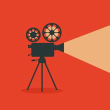 Retro Cinema. Retro Film Proje...