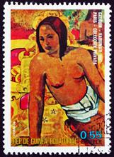 Postage Stamp Equatorial Guine...