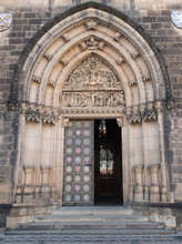 Gate Of The Gothic Church