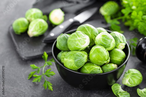 Foto op Canvas Brussel Brussels sprouts