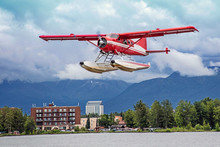 Float Plane Taking Off In Anch...