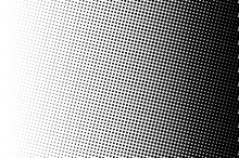 Halftone Background. Comic Dot...