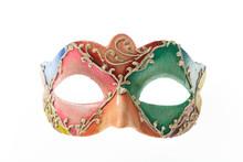 Colorful Venetian Carnival Mas...