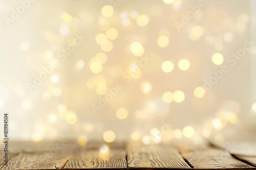 Fotografie, Tablou  Background of glowing garlands