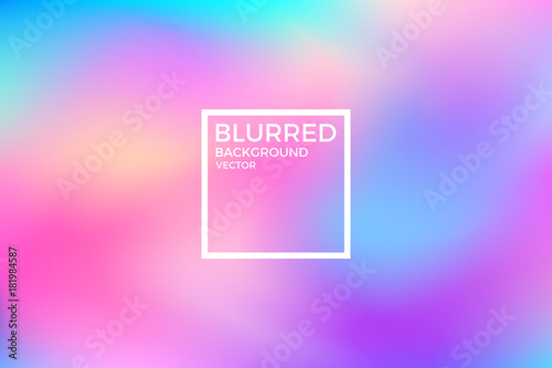 Abstract blurred background. Vivid color Fototapeta