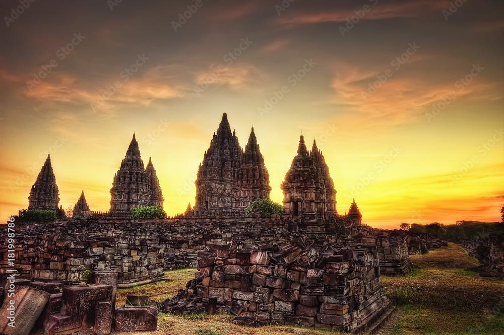 Fototapety, obrazy: Prambanan Temple