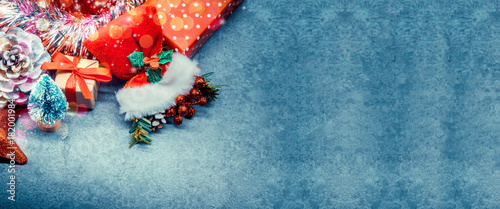 Printed kitchen splashbacks Glaciers Merry Christmas and Happy New Year, winter season