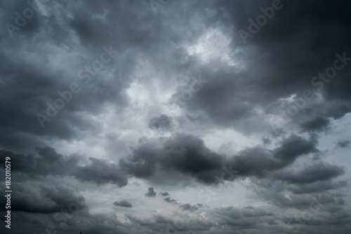 Canvas Prints Heaven dark storm clouds with background,Dark clouds before a thunder-storm.
