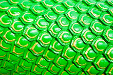 Green Dragon Scales Background...