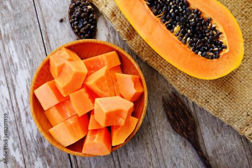 Healthy of papaya.