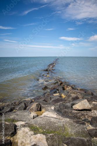 Spoed Foto op Canvas Noordzee Steinstrand an der Nordsee