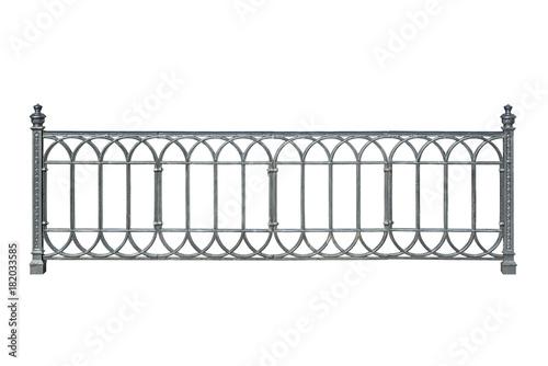 Decorative cast railings, fence. Canvas-taulu