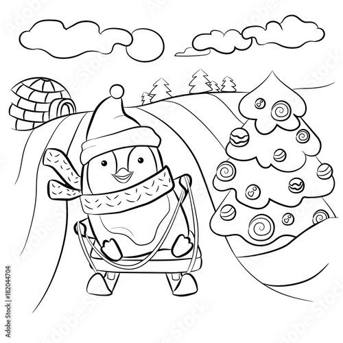 Papiers peints Cartoon draw Kids coloring page