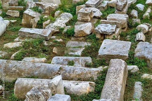 Foto op Aluminium Rudnes stone ruins of antiquity