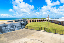 Fort Zachary Taylor Park, Key West. State Park In Florida, USA.