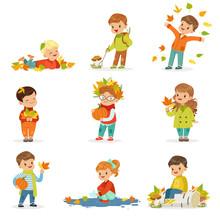 Autumn Children S Outdoor Seas...