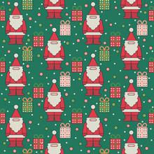 Christmas Seamless Theme Patte...