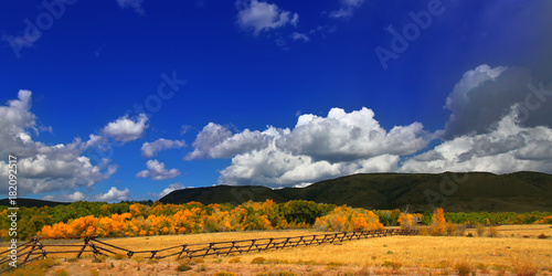Fotografia, Obraz  Wyoming Country Panoramic Landscape