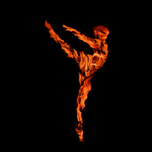 Burning Ballerina