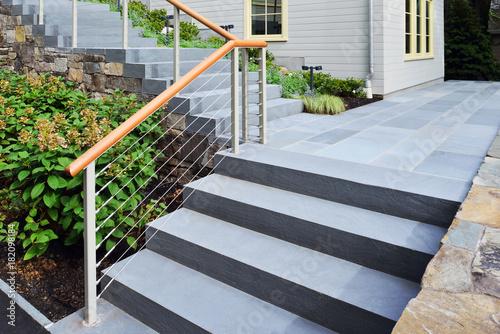 Bluestone Steps Fototapet