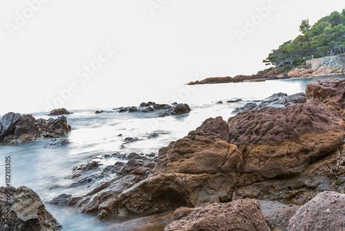 Côte d'Azur près de saint-raphaël Canvas-taulu