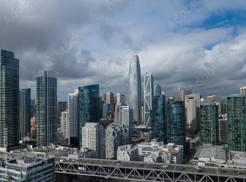 Obraz na dibondzie (fotoboard) Panoramę San Francisco