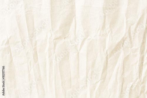 Fotografía  Crumpled pale paper texture