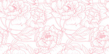 Seamless Pattern, Hand Drawn O...