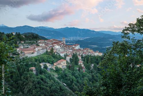 Sacro Monte of Varese (Santa Maria del Monte), Varese - Italy Canvas Print