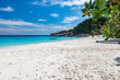 A tropical sandy beach in the Similan Islands, Thailand
