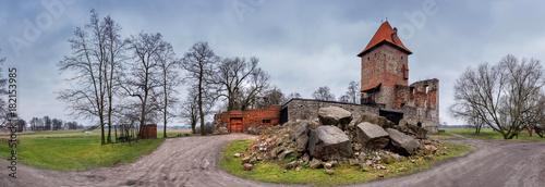 Foto op Aluminium Rudnes The ruins of a medieval castle.