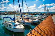 Pleasure Boats, Cyprus, Paphos District