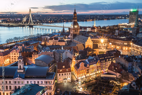 Fototapeta Riga