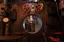 In Einem Unterwasserboot U-Boot