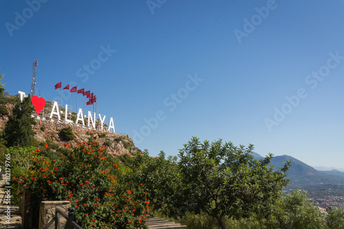 Photo Stands Vienna A view of the view of Alanya. Turkey. The mountains. Nature. Sky.