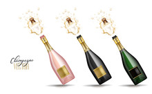 Vector Realistic Champagne Exp...