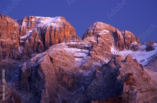 Valokuvatapetti Brenta Dolomites in Italy, Europe