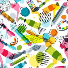 Art Materials For Craft Design...