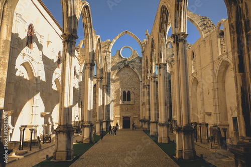 Plakat Ruiny Lizbony