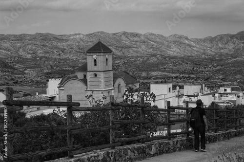 Fotografie, Obraz  Street of Lucainena de las Torres, Spain