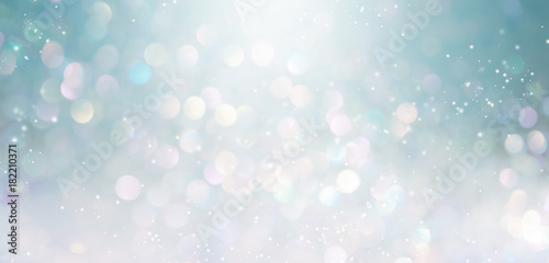 Leinwand Poster Beautiful abstract shiny light and glitter background
