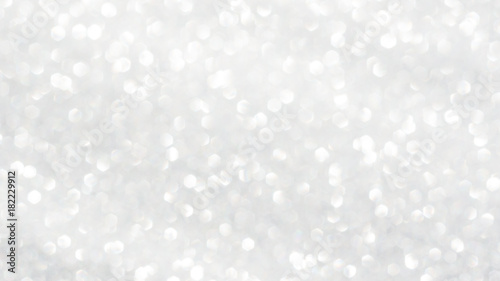 Obraz white glitter and bokeh for a background. - fototapety do salonu