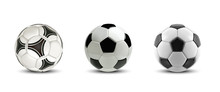 Vector Soccer Ball Set. Tree R...