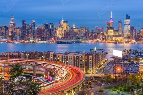 Fond de hotte en verre imprimé New York City New York, New York, USA