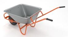 3D Rendering - Garden Metal Wh...